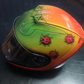 Lady Beetle Helmet