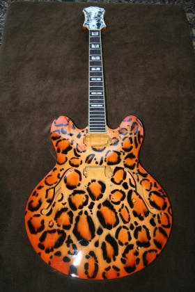 Guitar- Animal themed