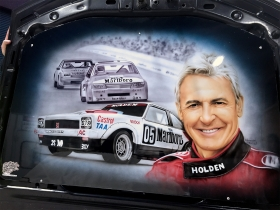 Peter Brock - Car