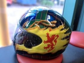 Airbrushed Helmet