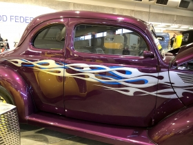 Airbrushed Car Graphics