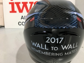 Wall to Wall sponsored Helmet