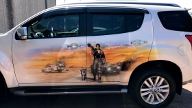 Airbrushed Mad Max Theme