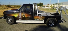 Tow Truck - Ned Kelly Themed