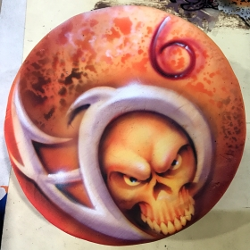 Airbrushed Cake