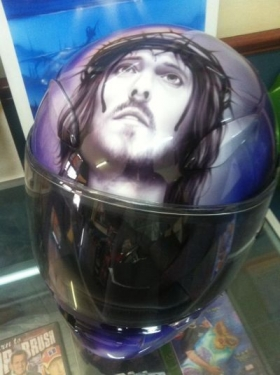 Helmet - Religious Themed