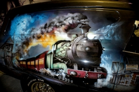 Airbrushed Car