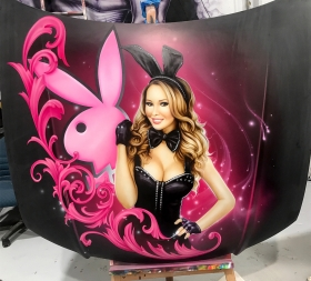 Airbrushed Playboy Ute