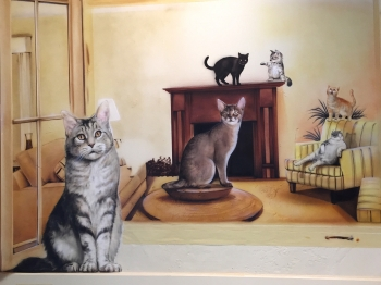 Cats - Wall Mural