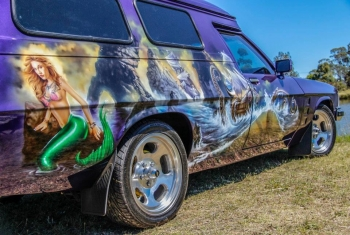 Airbrushed Panel Van - Folly