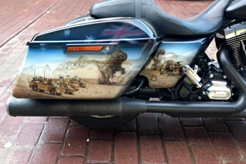 Army Tribute Bike