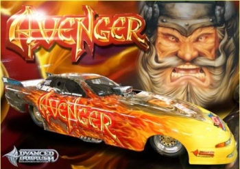 Avenger drag car