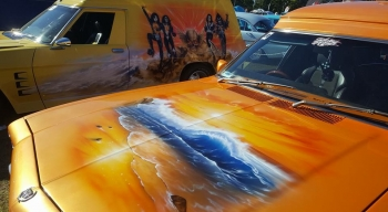 Airbrushed Panel Van - Enigma