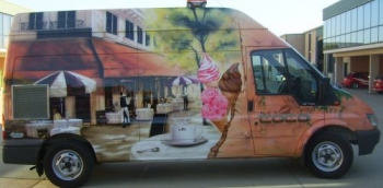 Promotional - Ice Cream van Airbrushed BAR COCO