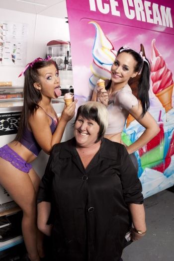 Jo & Models for Candy shoot