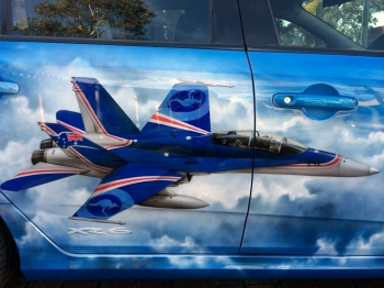 Car - Fighter Jet graphics