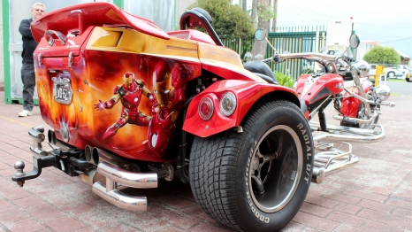 Trike - Iron Man Themed