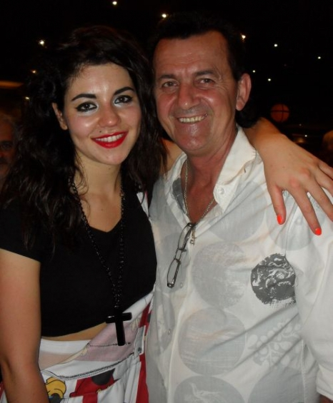 Wayne and Marina and the Diamonds