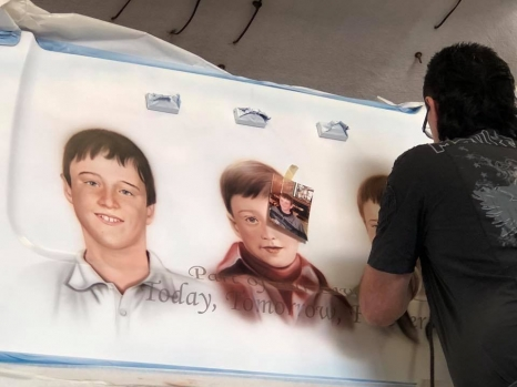 Reece Tribute Artwork - In Production