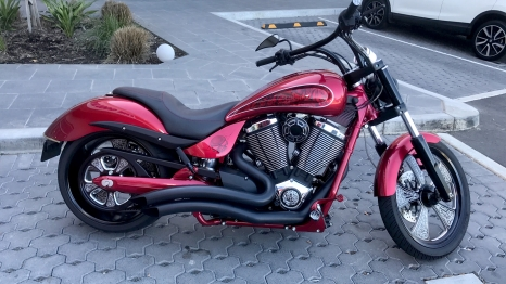bike red candy