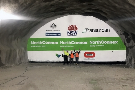 NorthConnex Tunnel Art