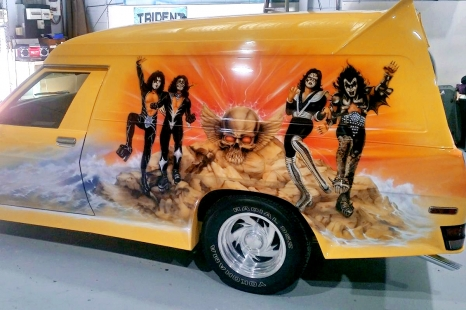 Airbrushed Panel Van