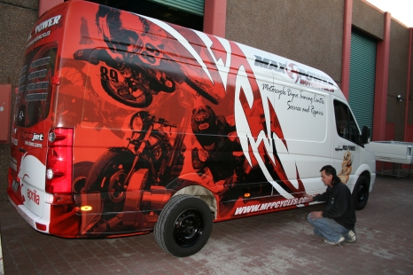Van - Promotional Graphics
