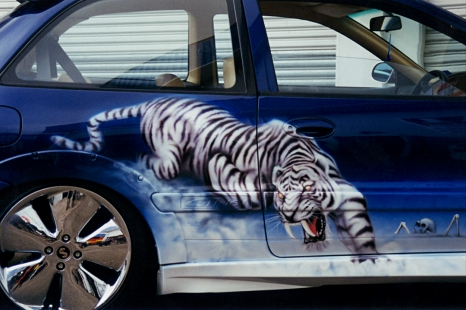 Airbrushed Car early 2000s