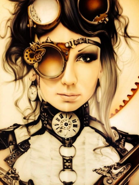 Steampunk - Fine Art