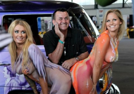 Summernats with Ashlee & Courtney Summers
