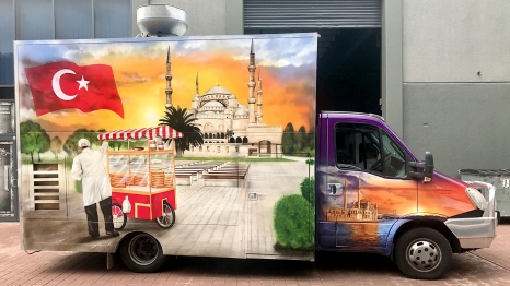 Airbrushed Food Truck