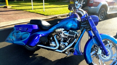 Airbrushed Bike