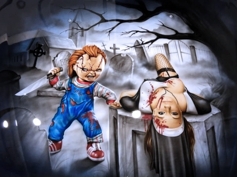 Chucky on Bonnet