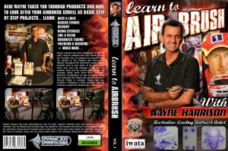 Learn to Airbrush DVD