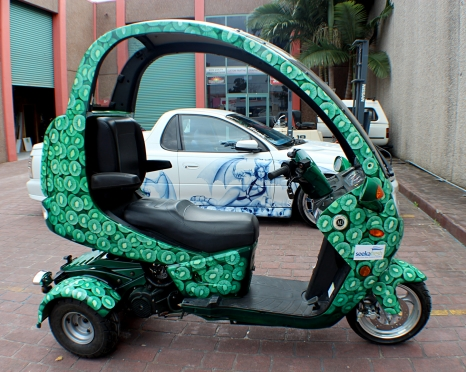 Airbrushed Scooter