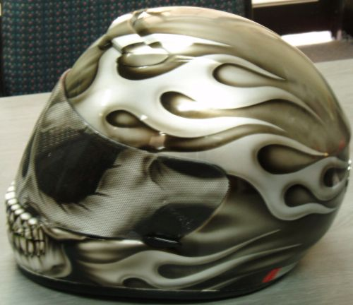 airbrushed graphics for your helmet or bike  sydney