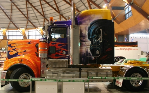 Trucks And Trailers Airbrushed By Advanced Airbrush The