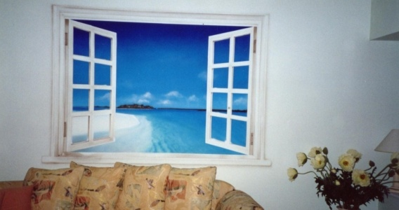For house walls, offices, restaurants, gardens and themed rooms anywhere
